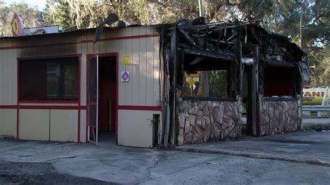 Owner suspects angry customer burned down Floral City