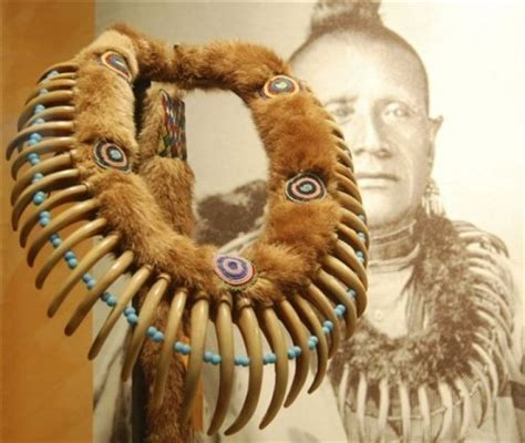 Bear claw necklaces and war shields: Cody museum exhibits