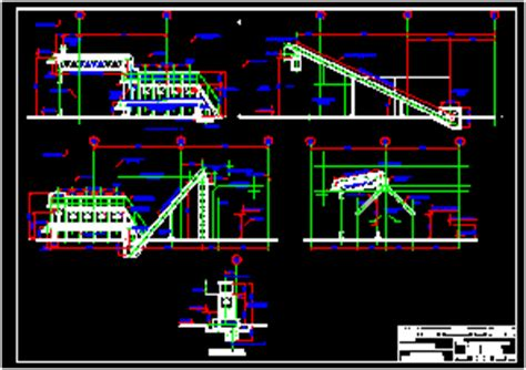 Transport System Of Precipitate Mineral DWG Block for