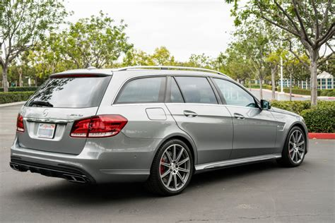 2014 Mercedes-Benz E63 AMG Wagon for sale on BaT Auctions