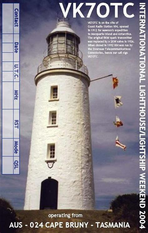 International Lighthouse and Lightship Weekend 2019