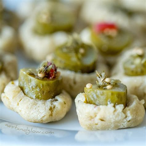 3-Ingredient Pickle Cookies - No bake and Gluten free