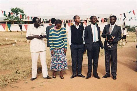 Evangelist William Ruto as you've never seen him before