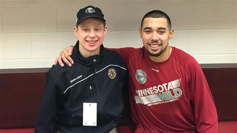Dumba Gives Thanks to Second Family   NHL