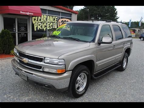 2002 Chevrolet Tahoe LT for Sale in Princeton, North