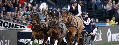 FEI World Cup Driving series 2017/18 - London Olympia