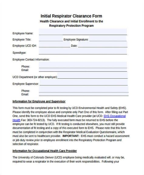 FREE 19+ Employee Clearance Forms in PDF | MS Word | Excel