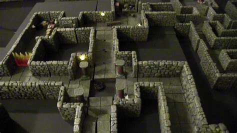 Dwarven Forge with Terranscapes Boards - D&D Shadowfell
