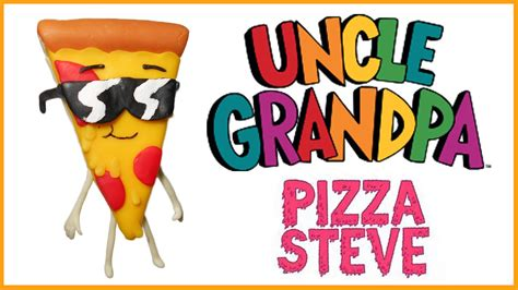 Uncle Grandpa | Pizza Steve Polymer Clay Tutorial