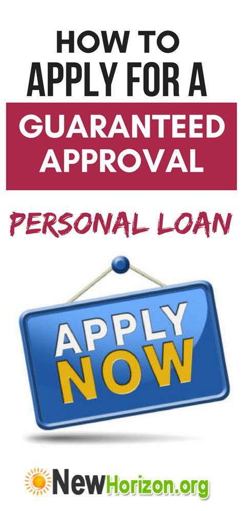 A Closer Look at Personal Loans with Guaranteed Approval