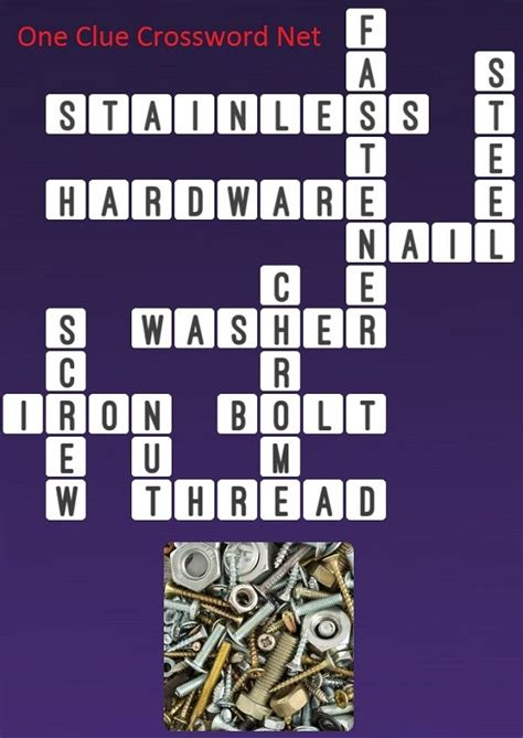 Nails - One Clue Crossword