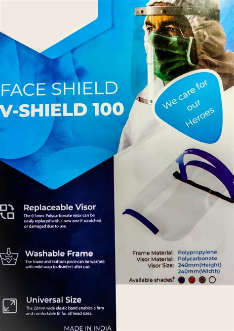 Buy Face Shield for Infection Control INR 130 I Lowest