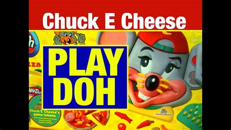 Play-Doh Chuck E Cheese Pizza Shop Food Play Set Toy