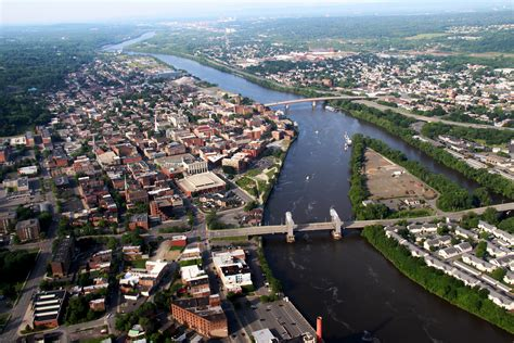Troy NY Aerial Photographer Photos Hudson River by Chris