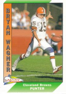 Cleveland Browns 1991 Pacific Football Cards