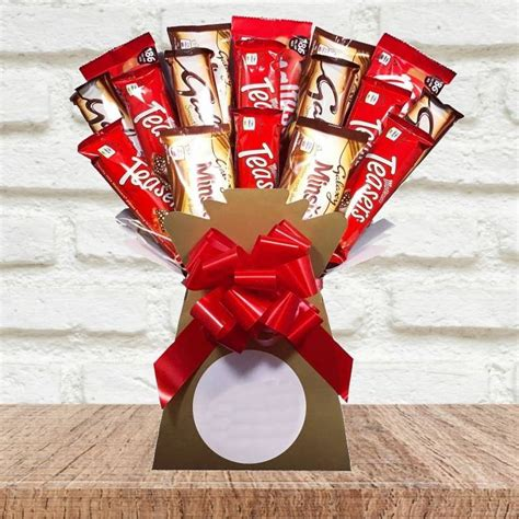 Maltesers and Galaxy Bouquet | Funky Hampers