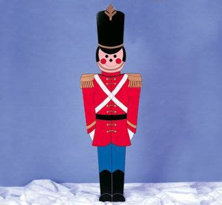 Toy Soldier Christmas yard Display life size 5Ft by