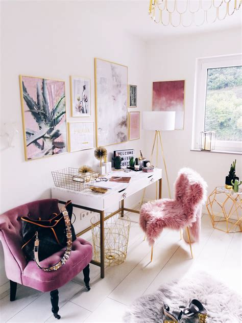 Ultimate girl boss space | Home office decor, Room