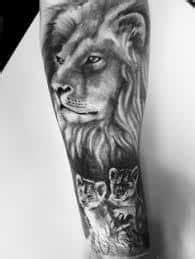 What Does Lion and Cub Tattoo Mean? | Represent Symbolism