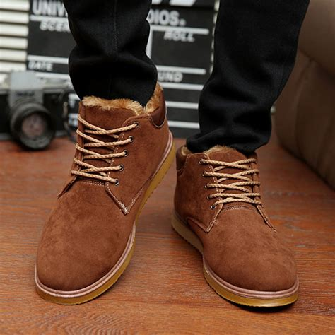 Winter moccasin boots