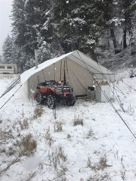 Canvas Winter Tents   FREE SHIPPING