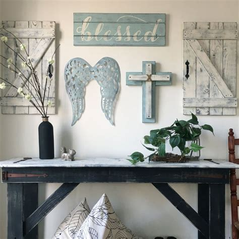 Items similar to 5 PIECE SET, Christian wall art for