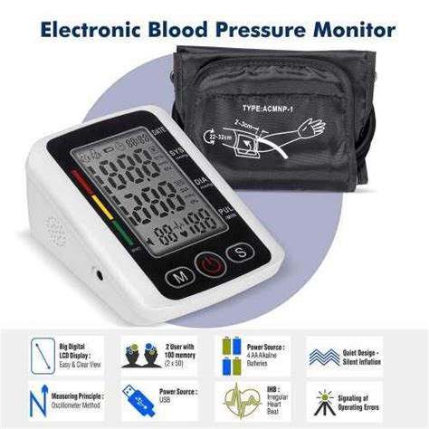 Blood Pressure Monitor at Best Price in India