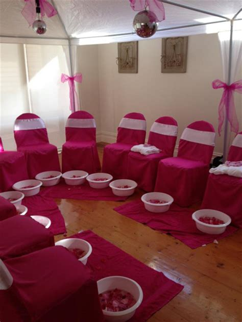 Zoe's Spa Pamper Party - Little Dance - All Things Party