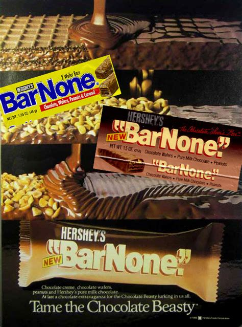 """Discontinued Foods   Hershey's Bar None - """"The One With"""