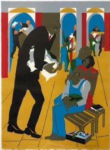 Jacob Lawrence in print - AFRICANAH